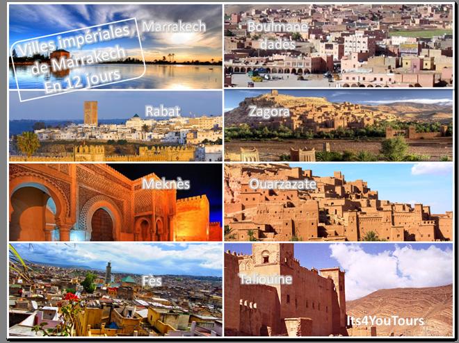 Circuit Villes Impériales de Marrakech - 12 jours