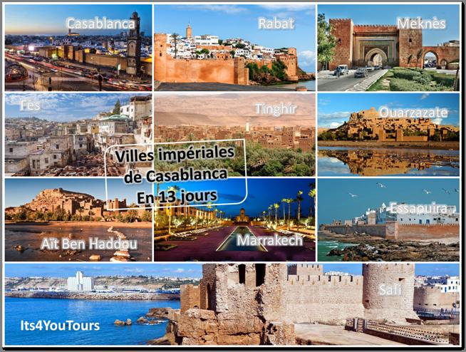 Circuit Villes Impériales de Casablanca - 13 jours