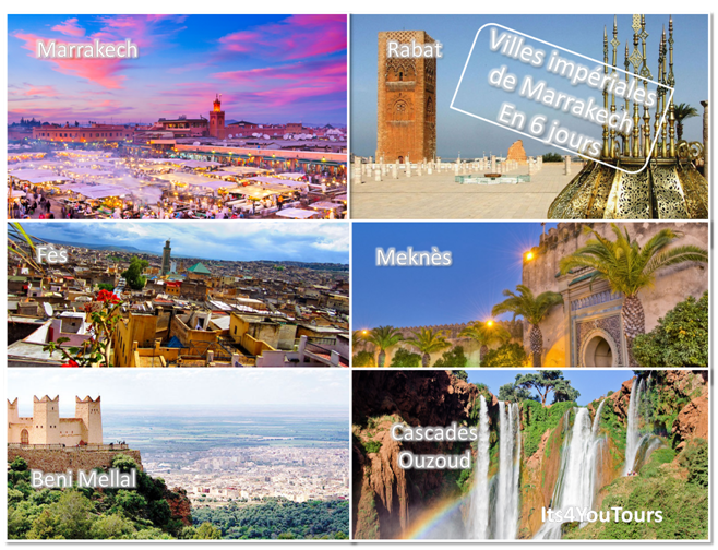 Circuit Villes Impériales de Marrakech - 6 jours - bis