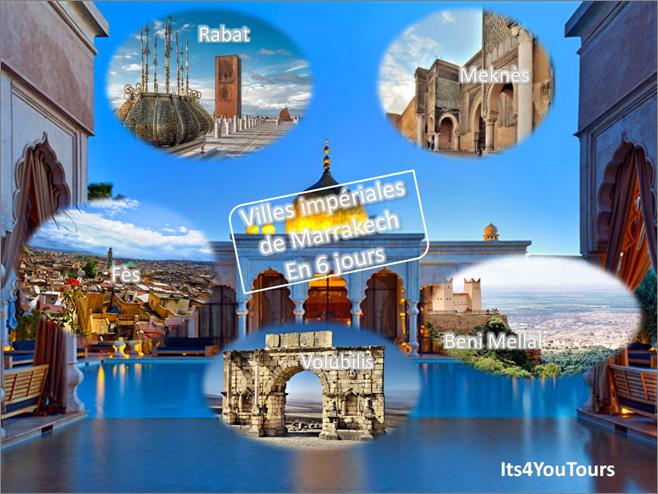 Circuit Villes Impériales de Marrakech - 6 jours