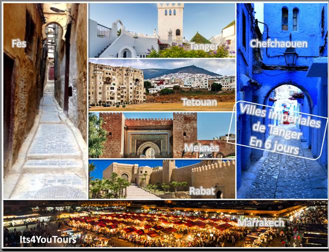 Circuit des Villes Impériales de Tanger - 6 jours