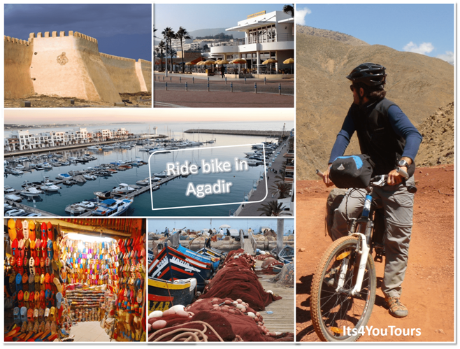 Bike ride Agadir