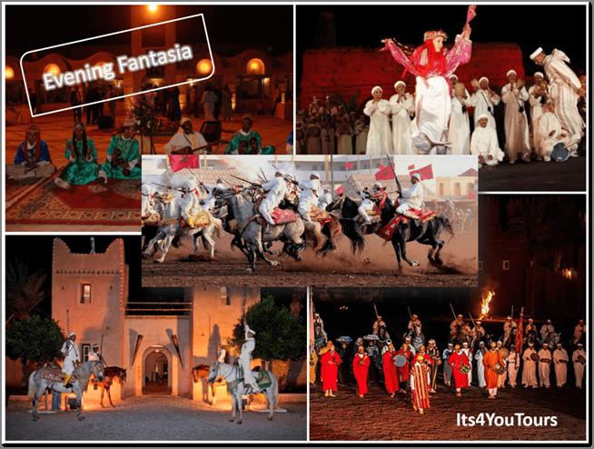 Moroccan dinner & Fantasia show