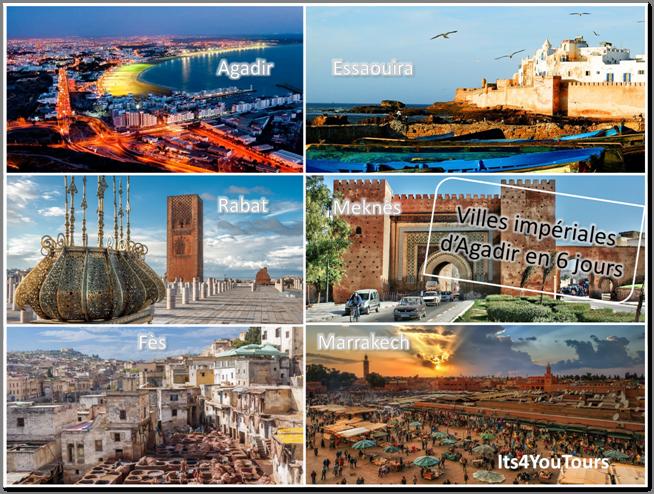 Circuit Villes Impériales d'Agadir - 6 jours - bis