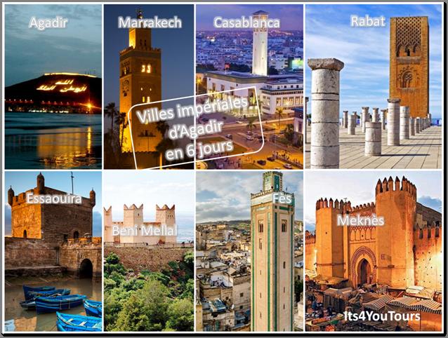 Circuit Villes Impériales d'Agadir - 6 jours