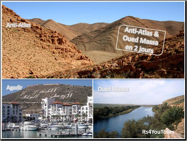 Anti-Atlas & Oued Massa en 4x4 - 2 jours
