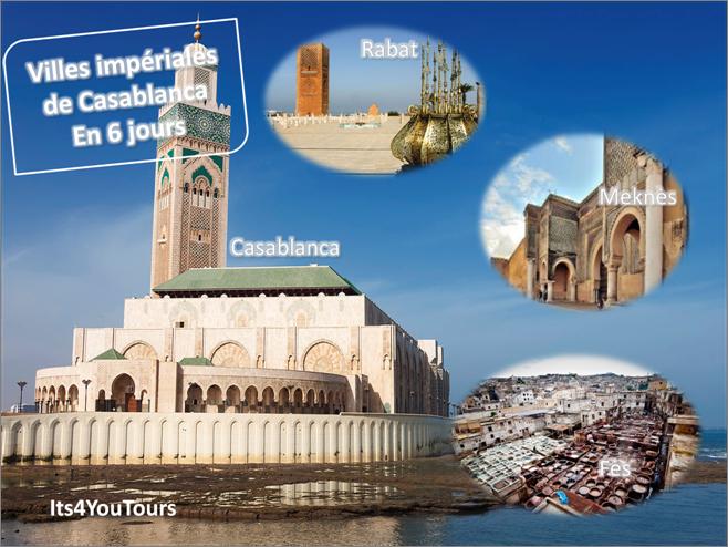 Circuit Villes Impériales de Casablanca - 6 jours
