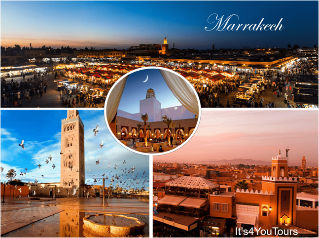 Day visit of Marrakech from Agadir