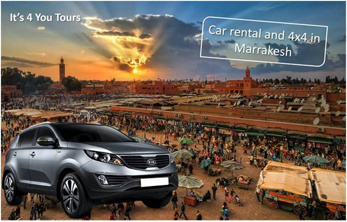 Rent Car and 4x4 - Marrakech