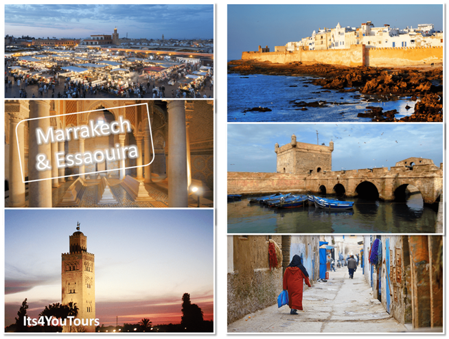 Excursion Marrakech & Essaouira en 2 jours