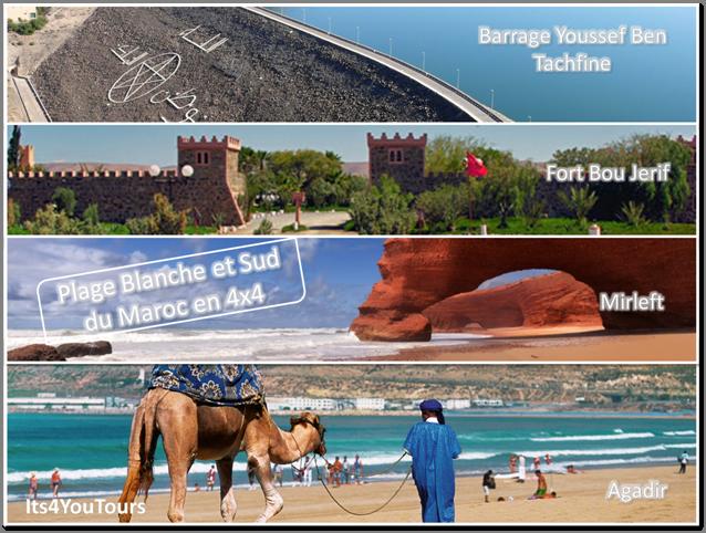 Massa, plage Blanche et Sud du Maroc en 4x4 - 5 jours