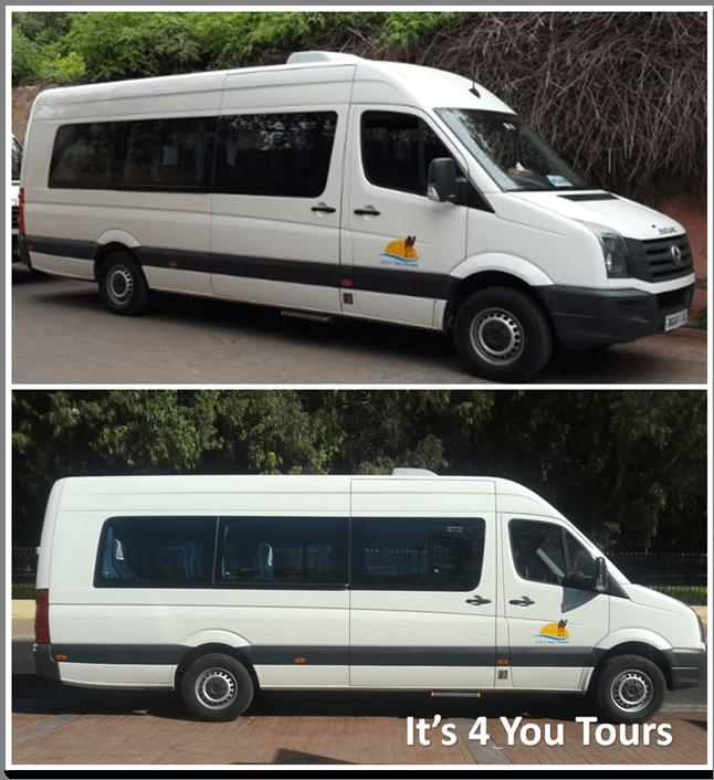 Location minibus 17 places avec chauffeur Agadir