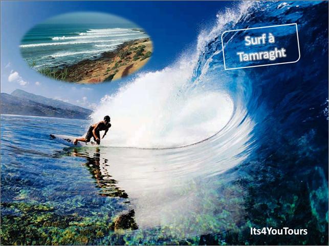 Séjour Surf à Tamraght au Maroc
