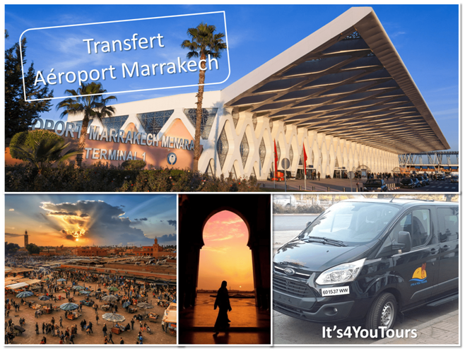 Transferts Marrakech aéroport