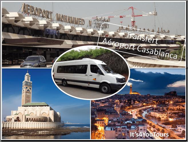 Transferts Casablanca aéroport