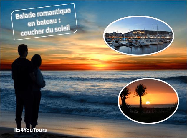 Sortie en bateau Agadir en coucher du soleil