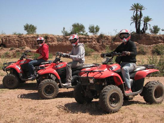 Circuit Quad buggy au Haut-Atlas Marrakech 3 jours