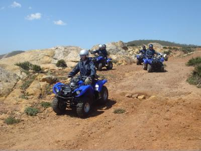 Excursion Quad buggy Tanger