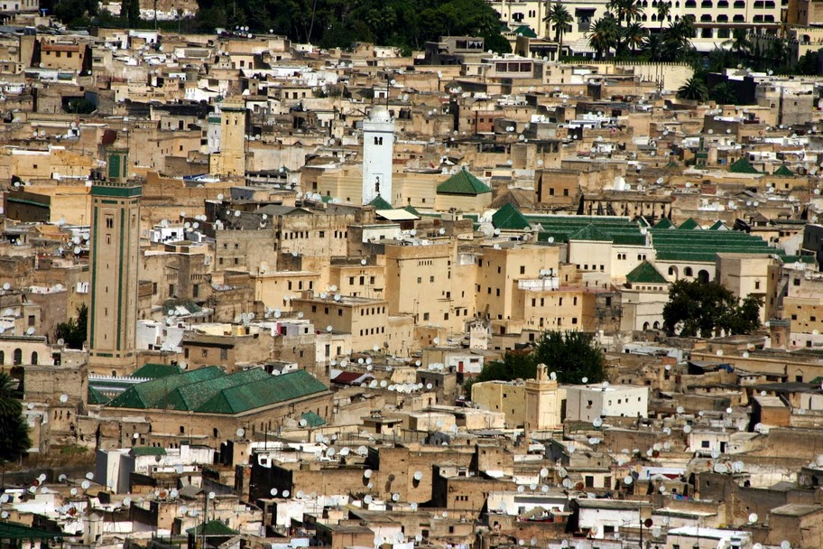 Grande Ville Au Maroc