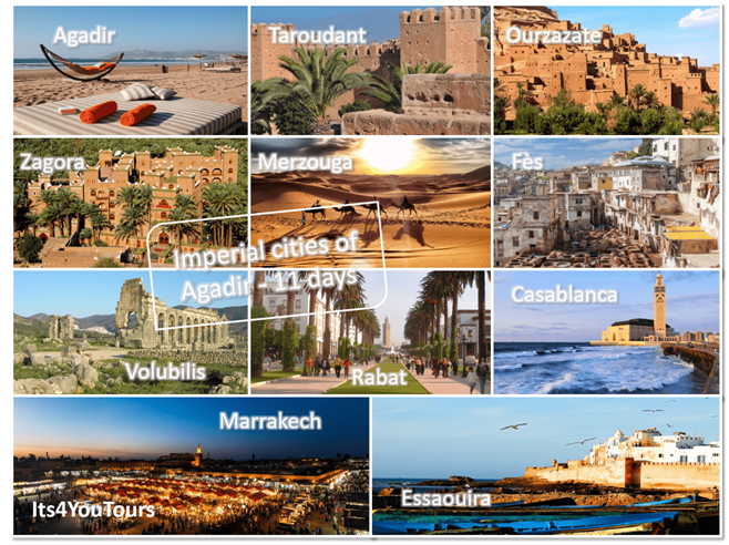 Tours Imperial Cities of Agadir 11 days