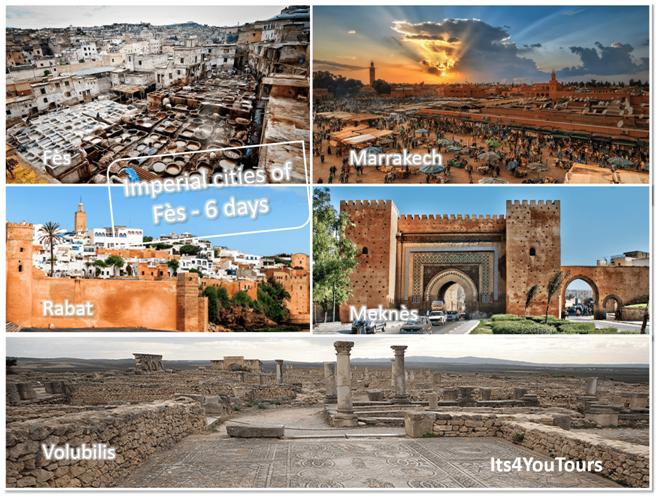 Tours Imperial Cities of Fez in 6 days