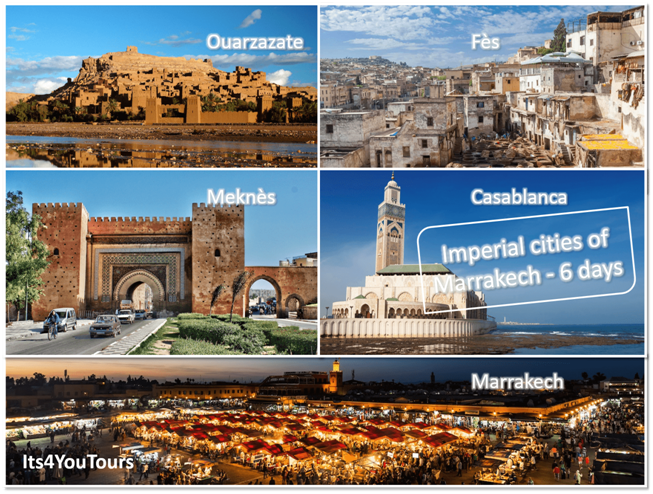 Tours Imperial Cities of Marrakech in 6 days