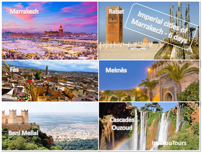 Tours Imperial Cities of Marrakech in 6 days - bis