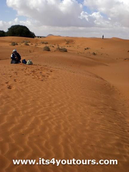 Un jour visite petit Sahara en 4x4