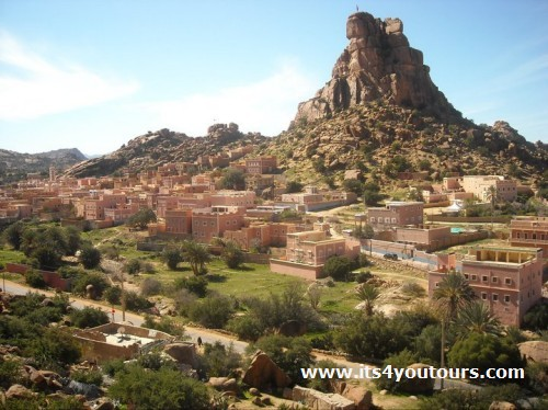 Visite Tafraout & Tiznit, le Triangle d'Or