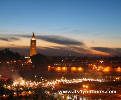 Excursion Marrakech, un jour de visite