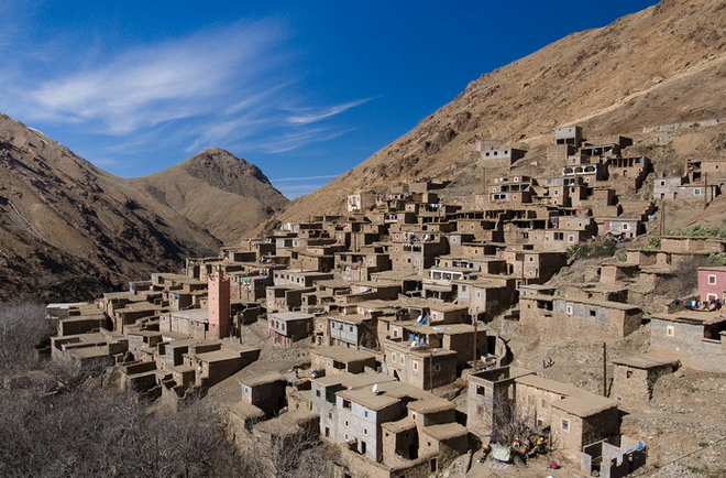 Trekking in the valleys and Berber villages of Toubkal - Family Special
