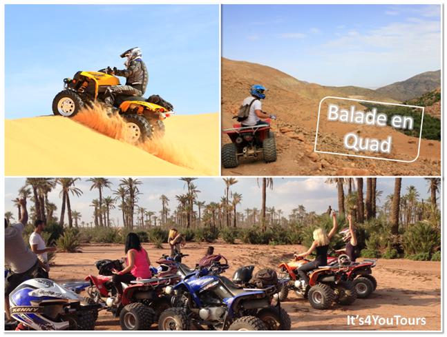 Excursion balade quad Agadir